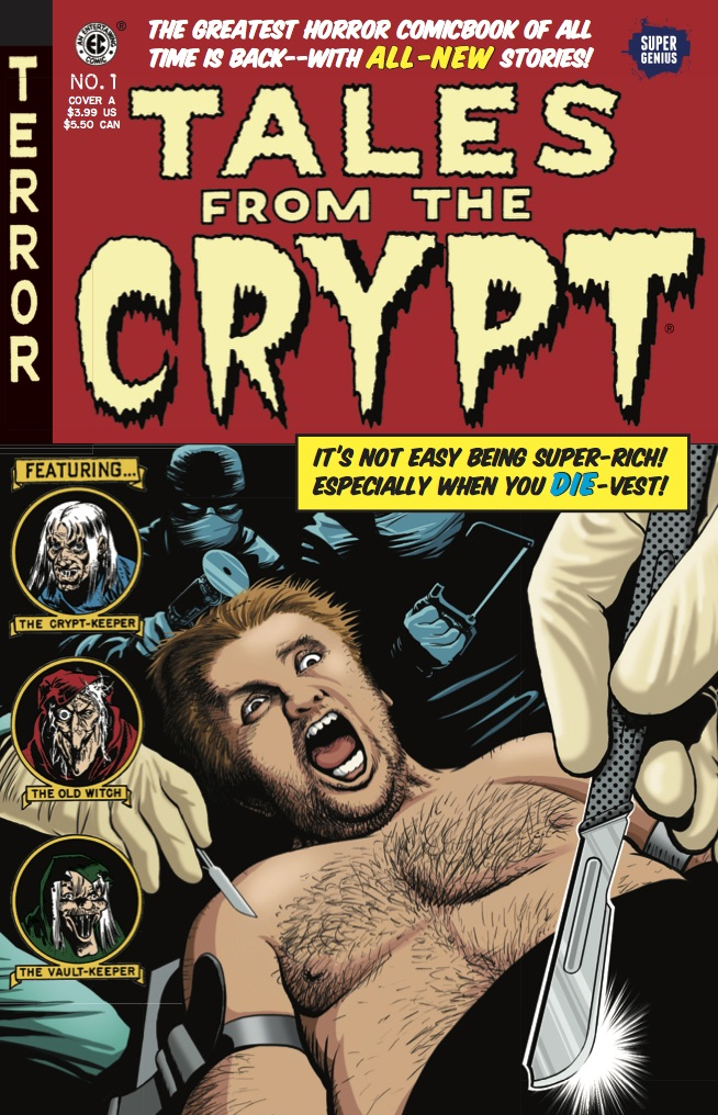 Tales From the Crypt #1 cover by Jolyon Yates