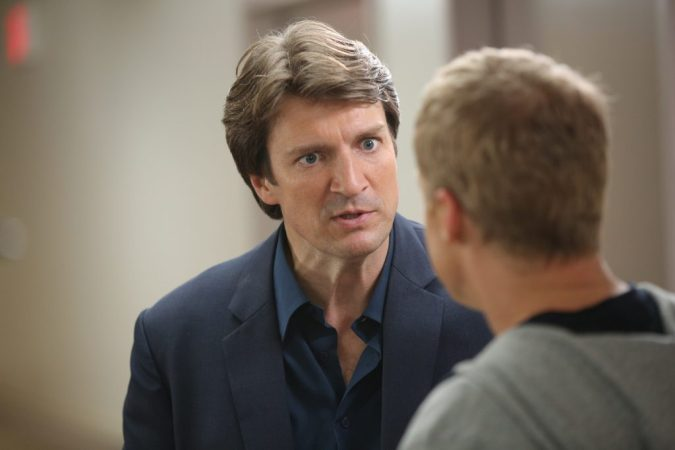 Nathan Fillion in Con Man