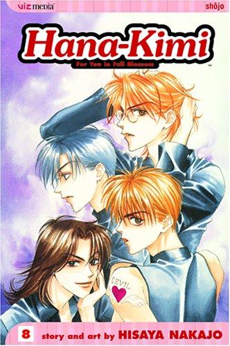 Hana-Kimi volume 8