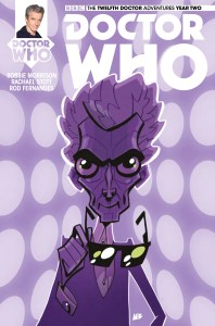 Doctor Who: The Twelfth Doctor Year Two #14 cover by Matt Baxter