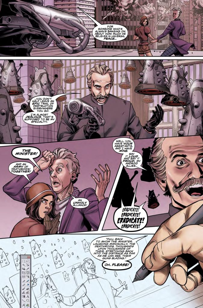Preview page from Doctor Who: The Twelfth Doctor Year Two #14