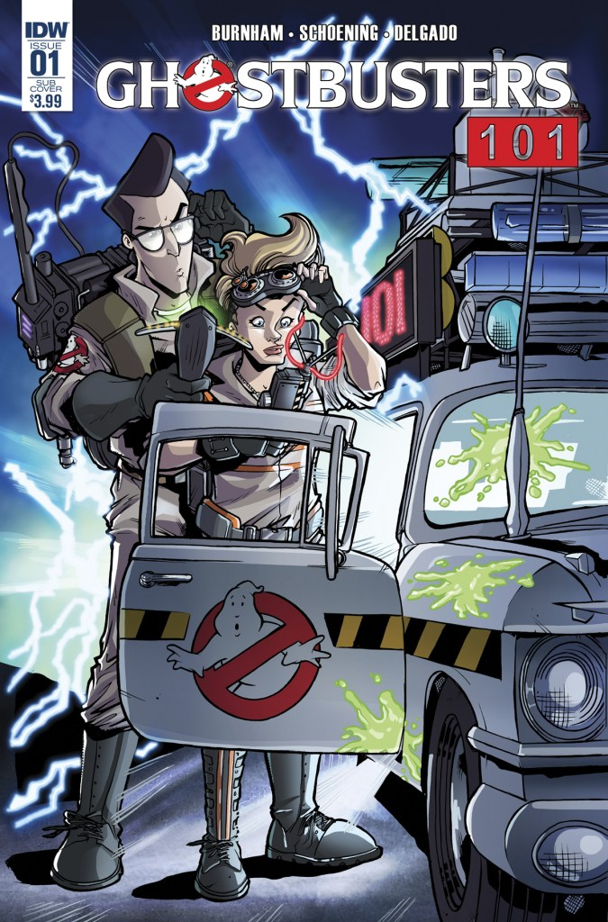 Ghostbusters 101 variant cover by Tim Lattie