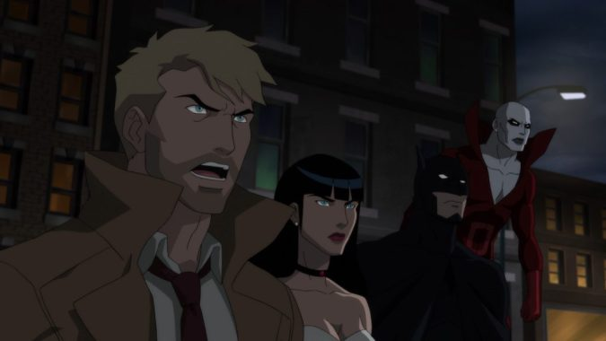 Justice League Dark: Constantine, Zatanna, and Batman