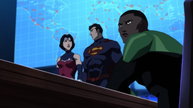 Justice League Dark: the Justice League with Green Lantern