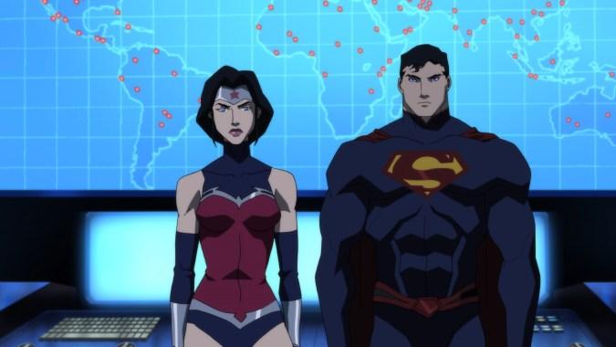 Justice League Dark: Wonder Woman and Superman