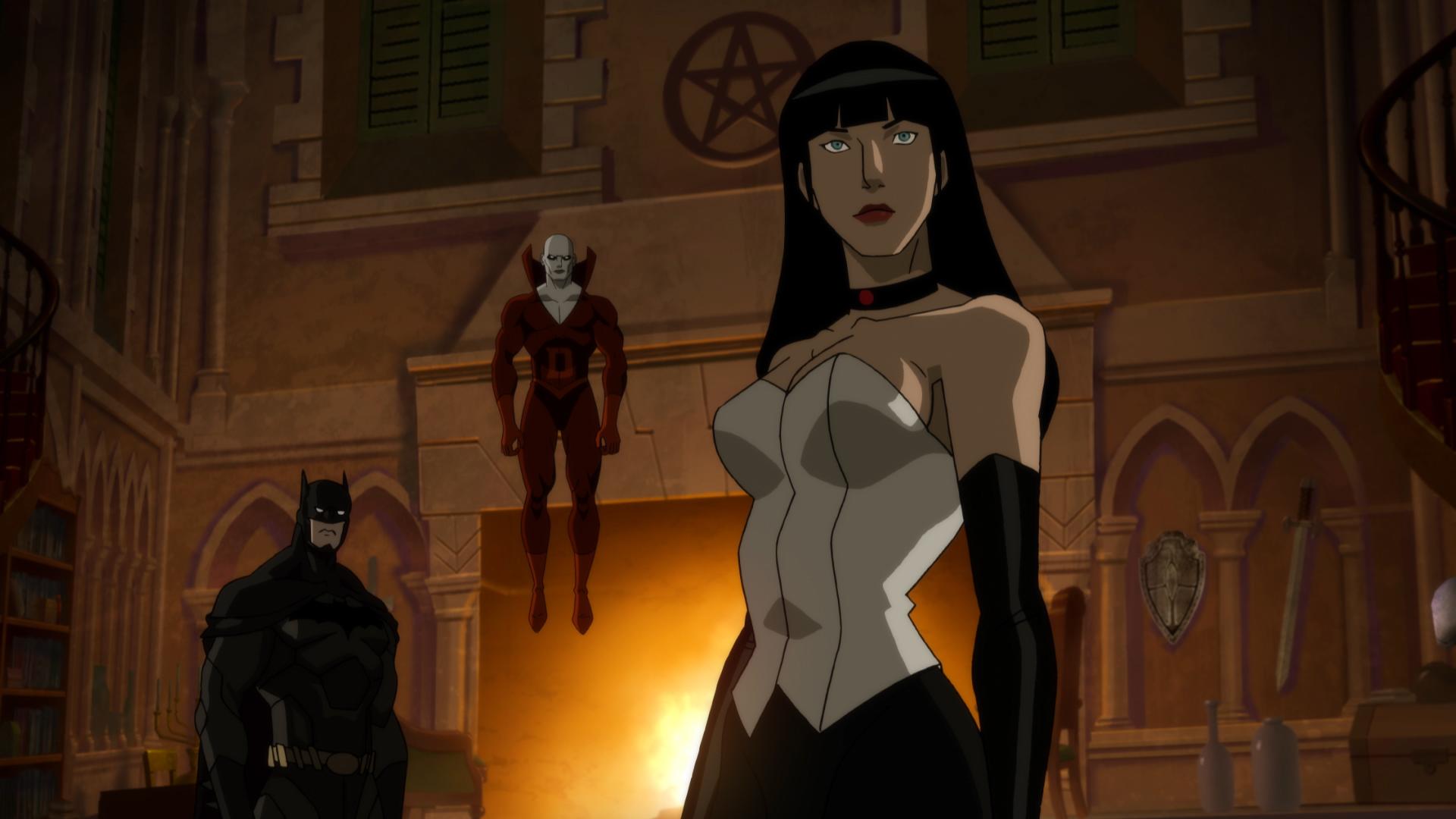 zatanna zatara justice league dark