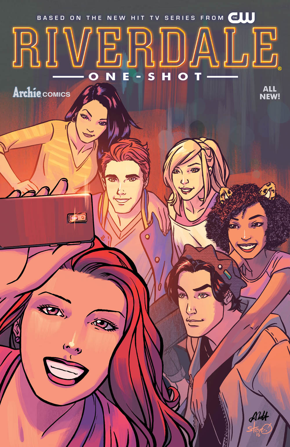 Riverdale one-shot cover by Alitha Martinez