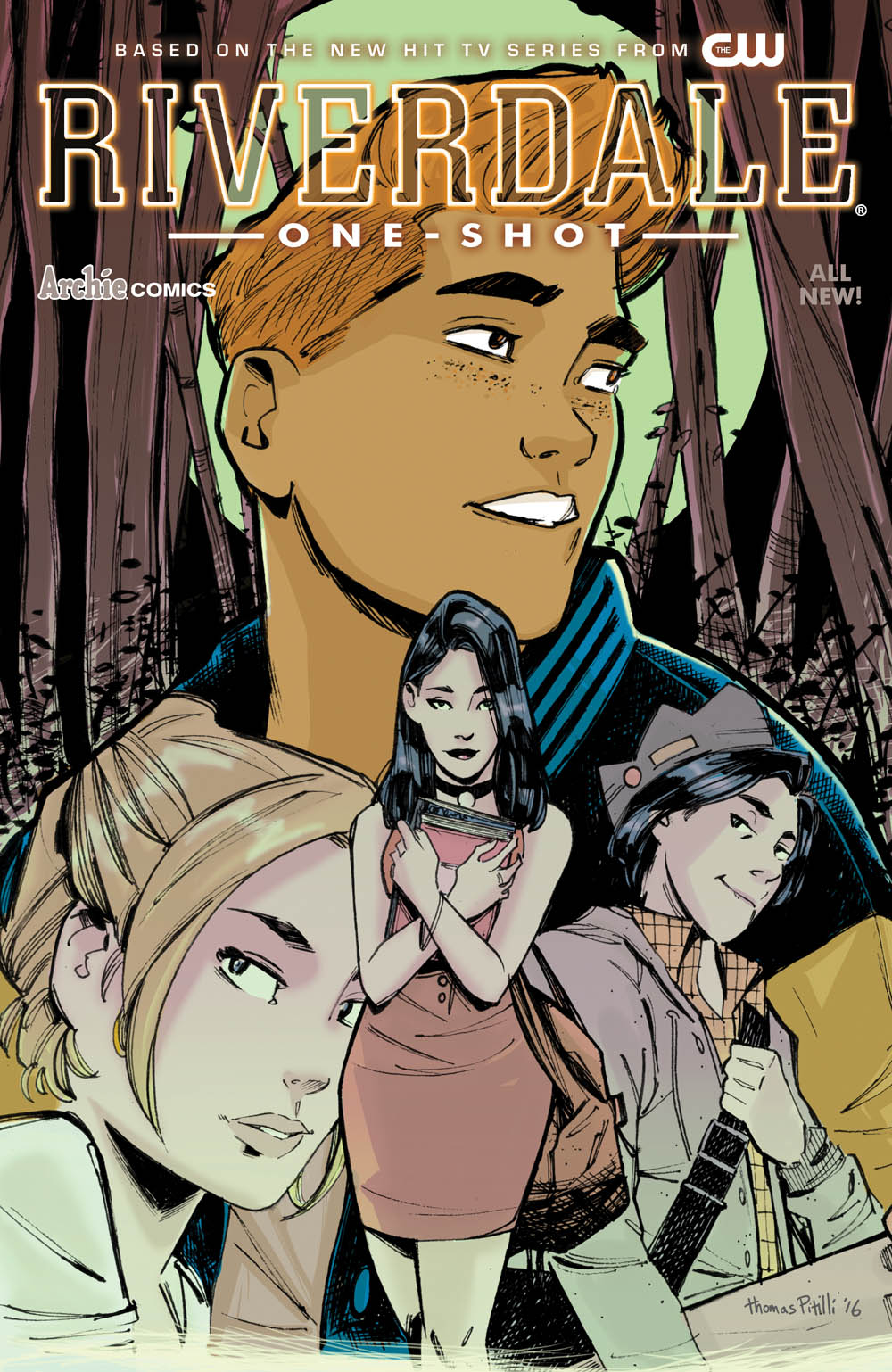 Riverdale one-shot cover by Thomas Pitilli