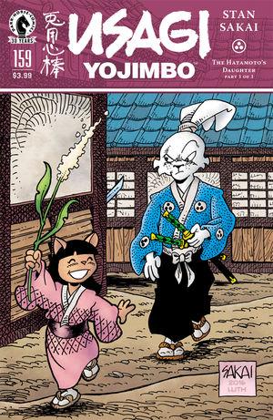 Usagi Yojimbo #158-160