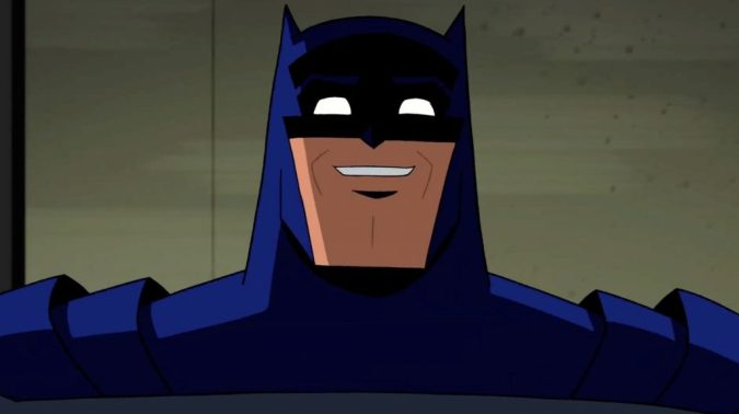 Batman: The Brave and the Bold image - Batman smiling