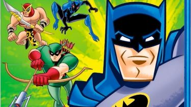 Batman: The Brave and the Bold Season One on Blu-ray