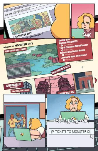 Brave Chef Brianna #1 preview page 5