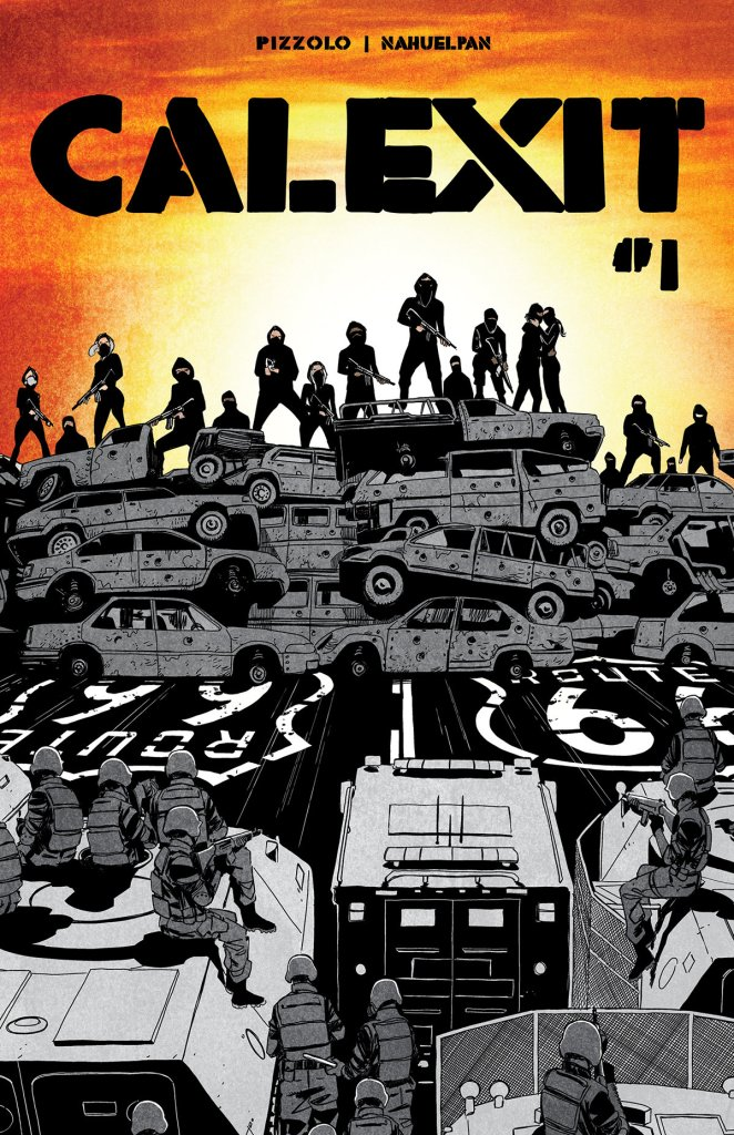 Calexit #1 cover by Amancay Nahuelpan