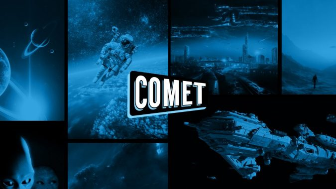 Comet TV app splash screen