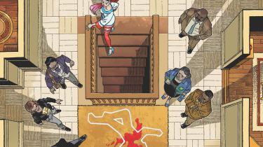 Clue comic promo art