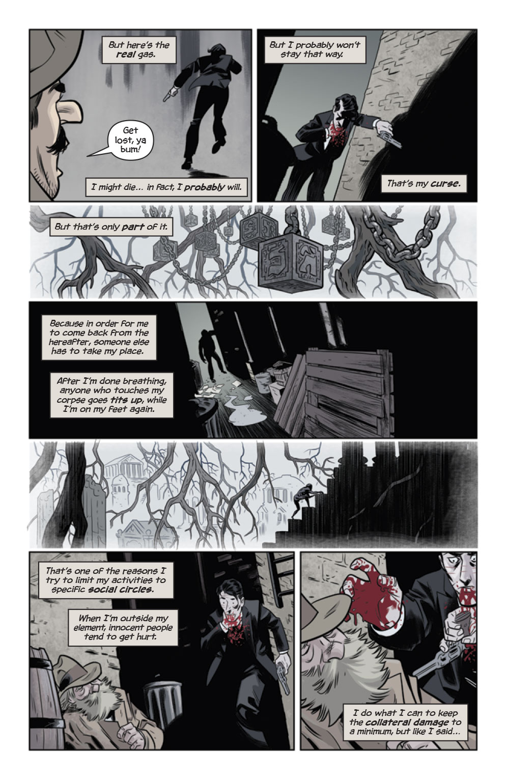 The Damned #1 preview page 3