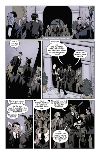 The Damned #1 preview page 6