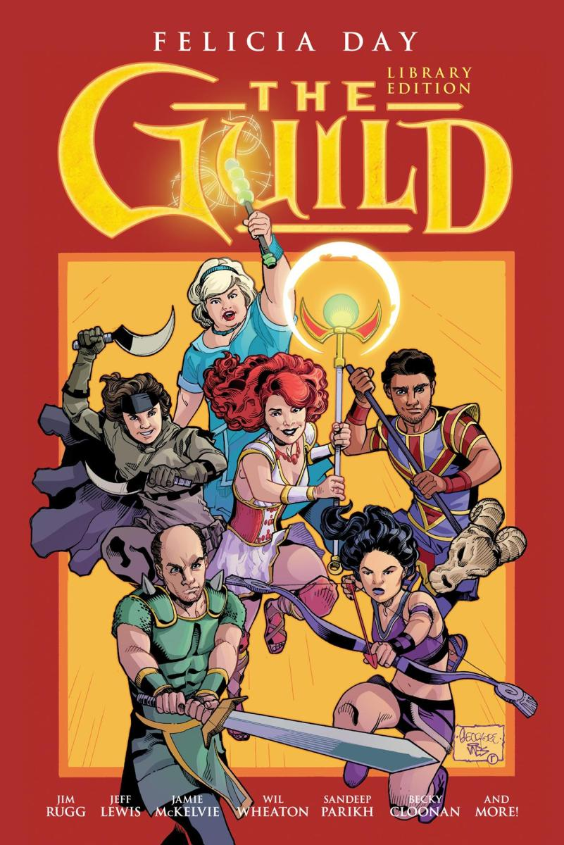The Guild Comics Collected in Hardcover