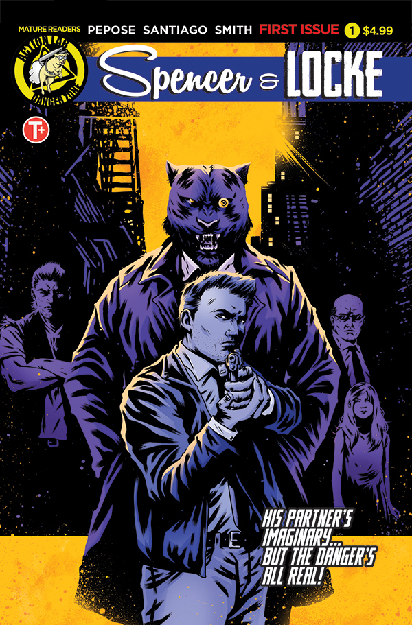 Spencer and Locke #1 variant cover by Maan House