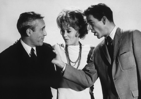 Jason Robards, Jane Fonda, and Dean Jones in Any Wednesday