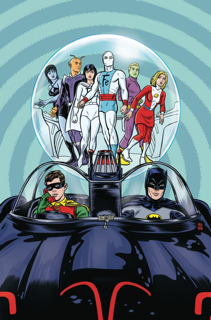 Batman '66 Meets the Legion of Super-Heroes #1