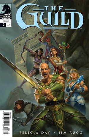 The Guild #2 cover by Matthew Stawicki