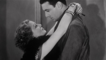 Loretta Young and George Brent in They Call It Sin