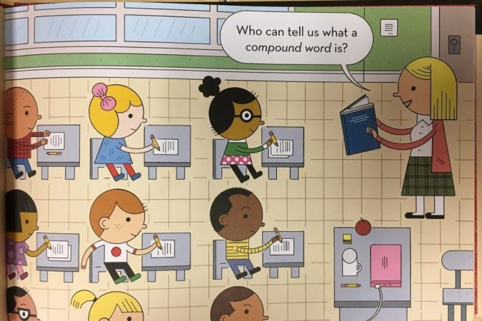 Wordplay panel by Ivan Brunetti