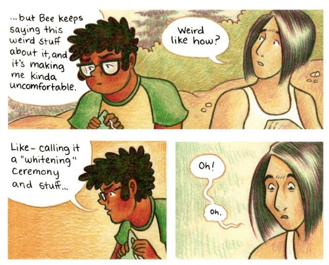 As the Crow Flies panel by Melanie Gillman