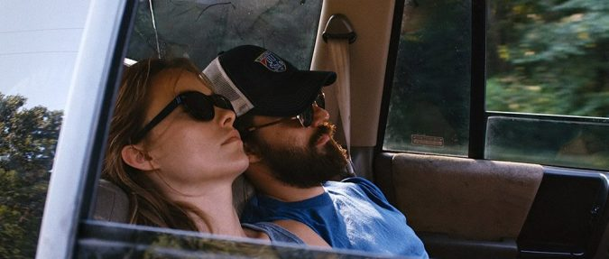 Olivia Wilde and Jake Johnson in Drinking Buddies