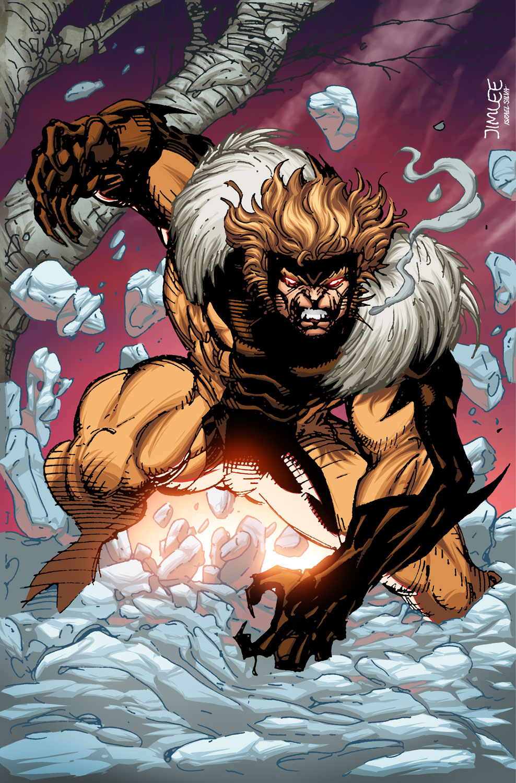 Iron Fist #5 (Sabretooth)