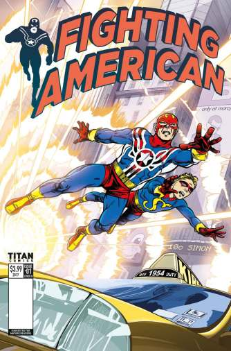 Fighting American #1 cover by Duke Mighten