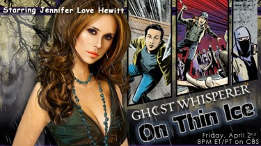 Ghost Whisperer promo card