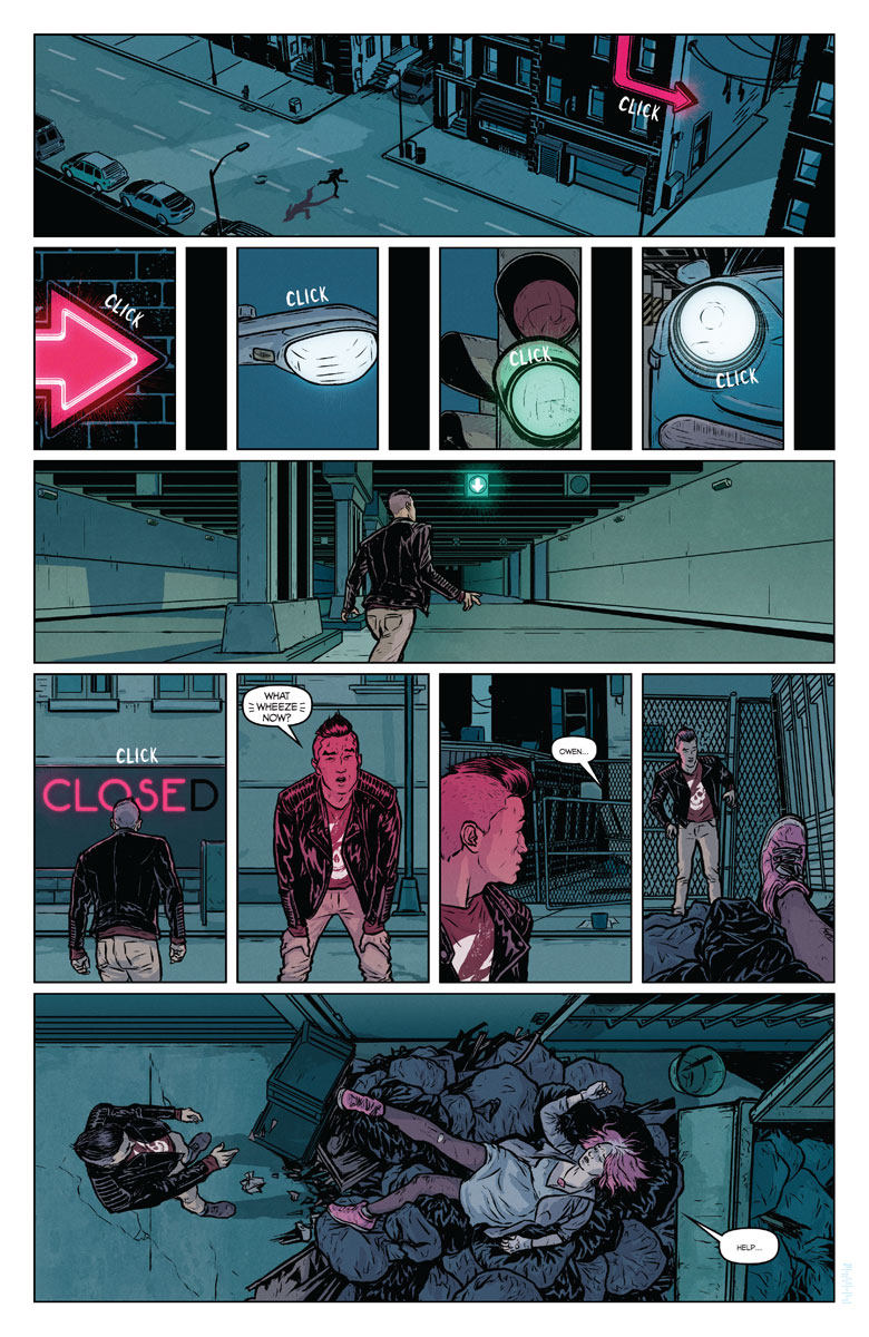 Secret Weapons #1 preview page