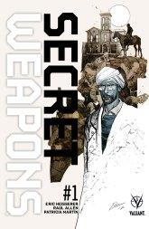 Secret Weapons #1 variant cover by Roberto de la Torre