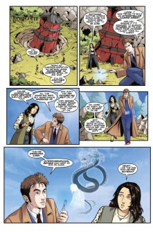 Doctor Who: The Tenth Doctor Year Three #6 preview page 2
