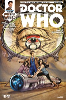 Doctor Who: The Tenth Doctor Year Three #7 cover by Blair Shedd
