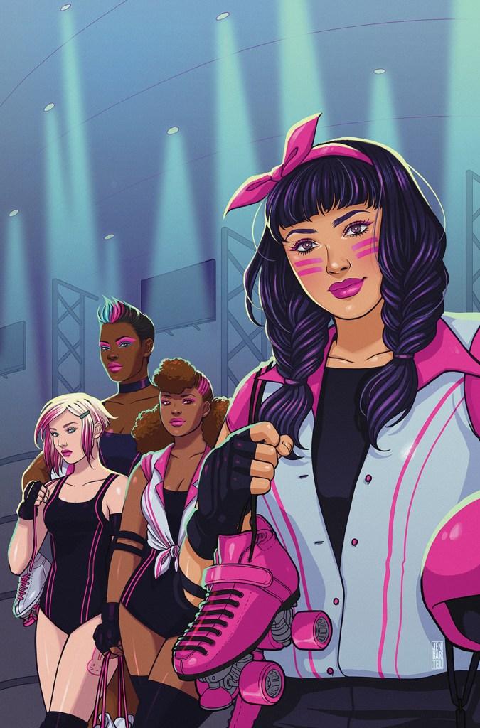 Slam! The Next Jam #1 variant cover by Jen Bartel