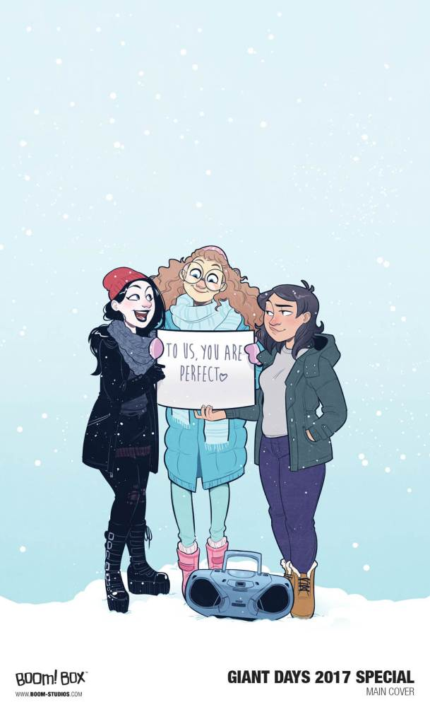 Giant Days 2017 Special cover by Jenn St-Onge