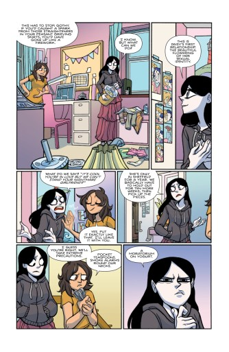 Giant Days #30 preview page
