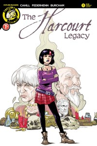 The Harcourt Legacy #1 cover by Brendan Cahill