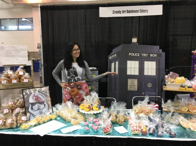 Bakery at Wizard World Madison 2017