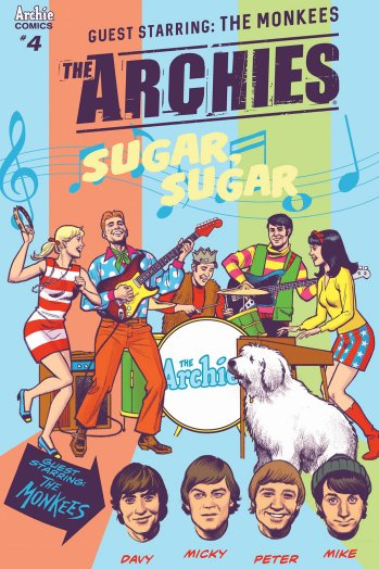 The Archies #4 cover by Greg Smallwood