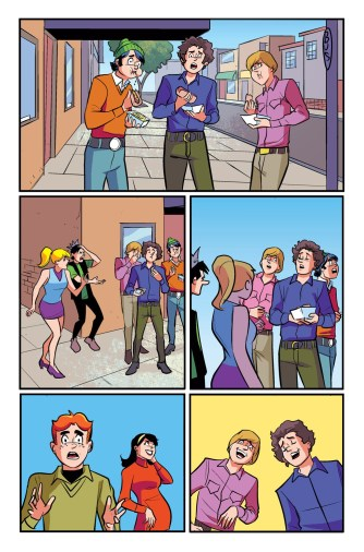The Archies #4 preview page 5