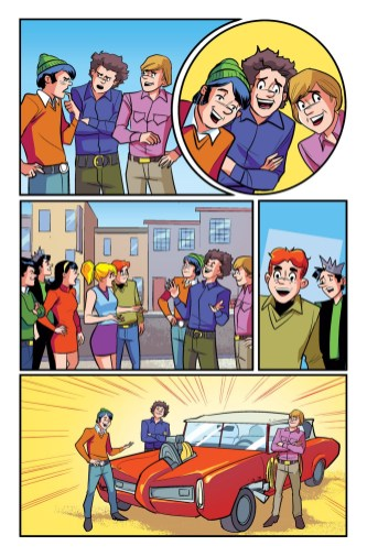 The Archies #4 preview page 6