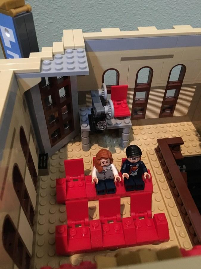 Lego Palace Cinema auditorium