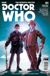 Doctor Who: The Seventh Doctor #1 cover C by Chris Jones