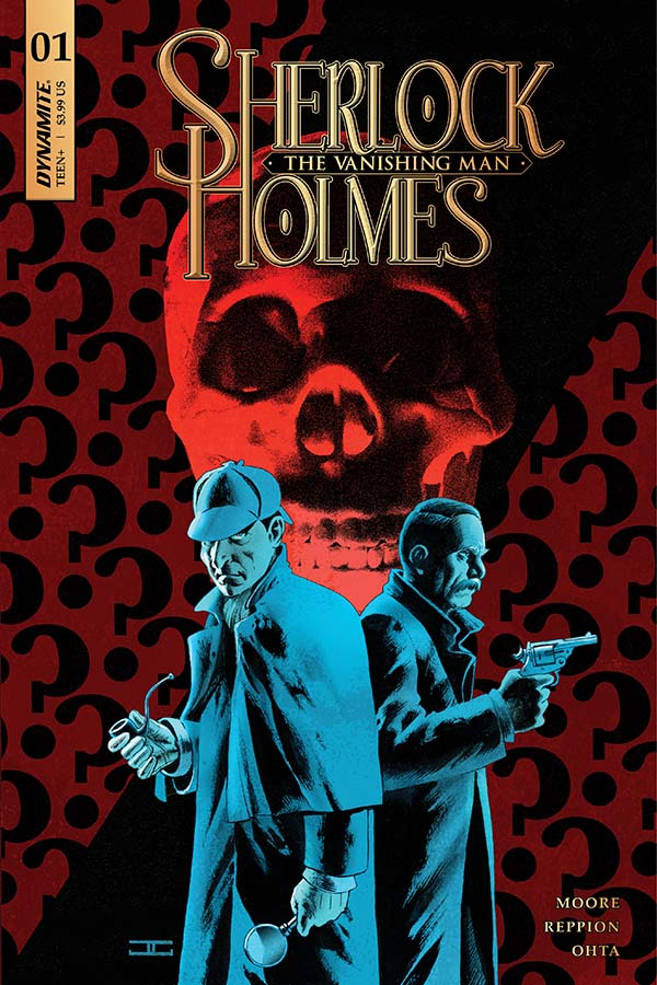 Sherlock Holmes: The Vanishing Man #1 cover