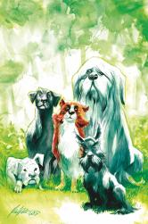Beasts of Burden: Wise Dogs and Eldritch Men cover by Rafael Albuquerque