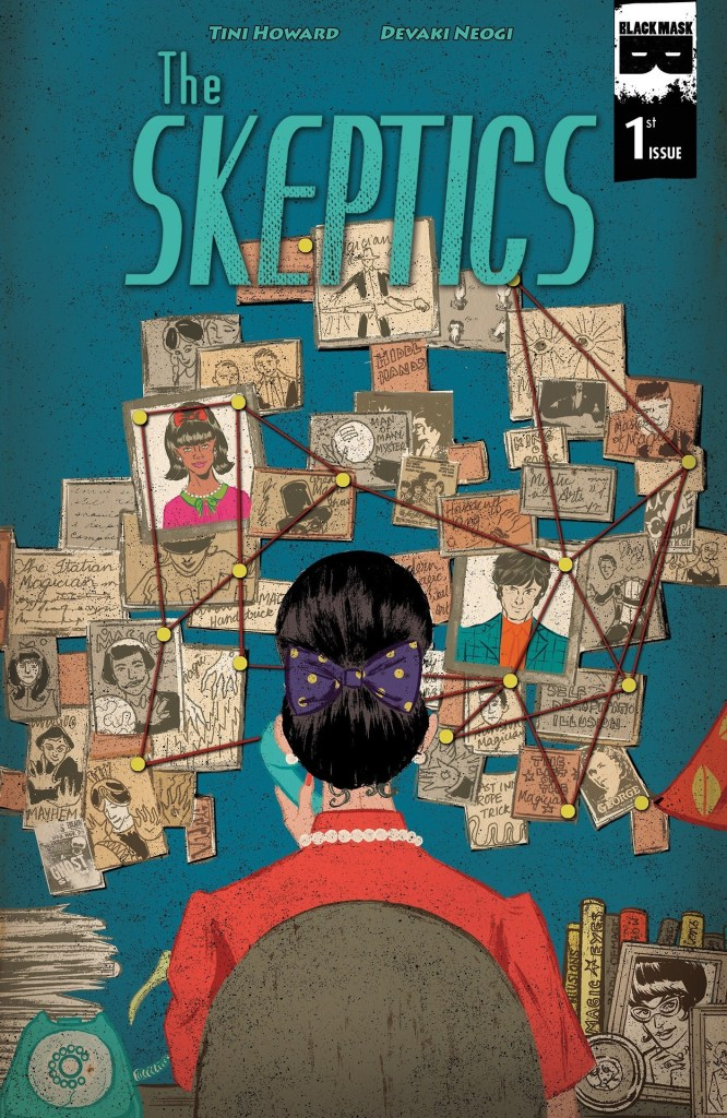 The Skeptics #1 cover by Devaki Neogi